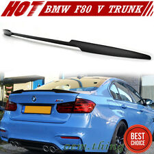 M3 328i 325d Carbon For BMW 3-Series F80 F30 Sedan V Style Trunk Spoiler 15 NEW