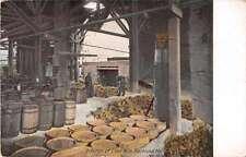 Rockland Maine Interior of Lime Kiln Antique Postcard J53746