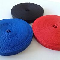 15mm Webbing Polypropylene 10 and 100 Meter Rolls Suitable Small Leads Strapping