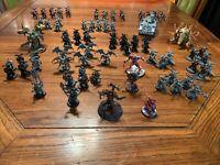 Warhammer 40k chaos army lot daemon prince havocs possessed abaddon marines pain