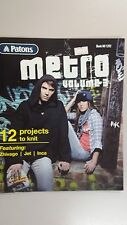 Patons Pattern Book 1292 Metro Vol 3 12 Projects