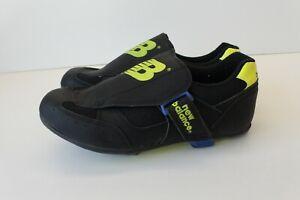 New Balance NB Bike Bicycle Cycling Shoes Black Blue Yellow Neon Womens Size 7