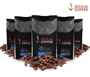 5kg Sicilia Coffee DECAF FORTE Freshly Roasted, SWISS WATER Great Strong Taste