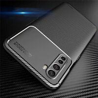 Schutzhülle Für OnePlus Nord 8 Pro Carbon Look Silikon Case Handy Tasche Cover
