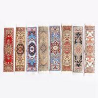 1/12 Scale Woven Rug Floor Carpet Dolls House Furniture Miniatures K4B7
