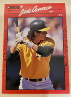1990 Donruss Oakland Athletics Baseball Card #125 Jose Canseco