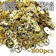 Steampunk WATCH PARTS Set 40gr - Cyberpunk Jewellery Making -Lot of Cogs & Gears