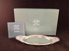 Lenox Kirk Stieff Collection Repousse Mirror Vanity Tray with Box