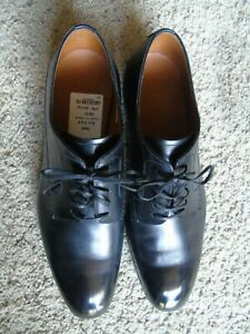NEW BALLY BRUSTEL BLACK LEATHER TOP/SOLE US 6.5 EEE $525+TAX RETAIL SWISS MADE