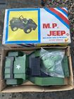 Vintage Early 1970s Military Police Toy War Willys Jeep ILLCO Woolbro New Unused