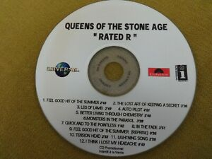 Queens of the stone age - Rated R RAR Promo CDr /// Kyuss / Stoner Rock