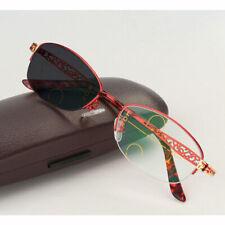 Fashion Photochromic Reading Glasses Progressive Eyeglasses For Women Half-Rim