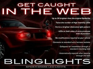 BlingLights White LED Spider Light Bulbs for Mazda Miata MX-5 ( All Years )