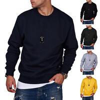Jack & Jones Herren Sweatshirt Sweatpullover Basic Langarmshirt Pullover Top