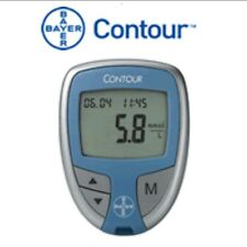 New! Bayer Ascensia Contour Blood Glucose Diabetes Monitor Meter with Case