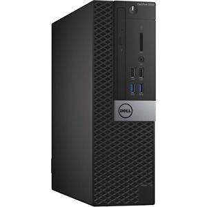 Dell Optiplex 5040 SFF Intel 3.30GHz 16GB RAM DDR3 180GB SSD Windows 10 Pro WiFi