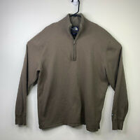 The North Face Jacket Men's XL 1/4 Zip Fleece Cotton Wool Blend Pullover Sweater
