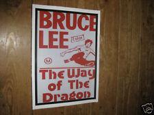 Bruce Lee Film Star Posters