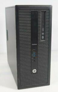 HP EliteDesk 800 G1 TWR Intel i5-4570 3.2GHz 4GB DDR3 WIN7COA Fair No HDD