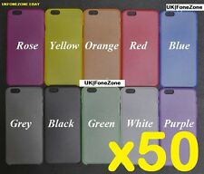 50x iphone 6 case cover wholesale joblot bulk 9 different colours