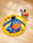 Disney's Winnie The Pooh 'Eeyore' Shaped Rug Latch Hook Kit