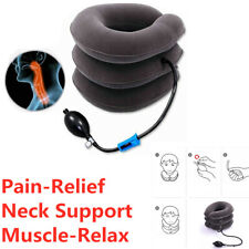 1PC Car Inflatable Travel Neck neck Pillow Head Pillow Support Pain-Relief
