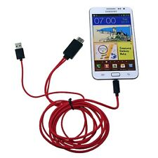 "MHL Micro USB to HDMI TV Adapter Cable for Samsung Galaxy Tab 7.0""SM-T231"