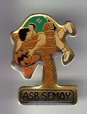 RARE PINS PIN'S .. SPORT BASKET BALL CLUB TEAM PANIER ACROBATIE ASB SEMOY 45 ~C4