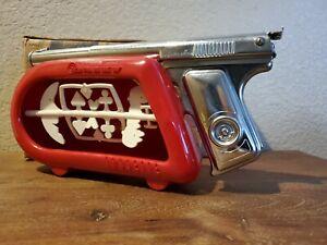Daisy Targeteer Chrome BB Pistol Indoor Target BB's Original Box Instructions