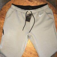 Nike Jogger Pants Training Therma Heather Gray Black AO5857-063 Mens Size XL