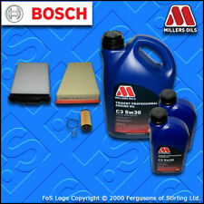 SERVICE KIT for RENAULT MEGANE II 2.0 DCI +DPF OIL AIR CABIN FILTER +OIL (06-09)