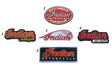 5 PCS NEW INDIAN MOTORCYCLES Logo MOTOR AUTO Logo embroidered Badge Patch