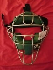 BNWT Adidas Pro Issue Catcher's Umpire's Mask Green *Rare*