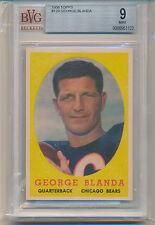 1958 Topps Football George Blanda (HOF) (#129) BVG9 BVG
