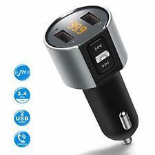 IMDEN FM Transmitter for Car, Wireless Bluetooth FM Radio Adapter