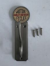 Harley Davidson Motor Cycles Logo Design Double Coat and helmet Wall Hook