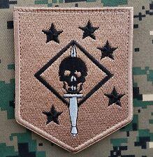 Marine Raiders Infrared Patch - MARSOC,USMC,SOF Hook Loop Desert Morale Badge