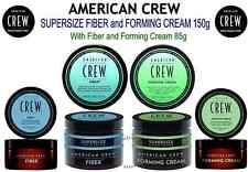 AMERICAN CREW SUPERSIZE DUOS - Fiber 150g + 85g or Forming Cream 150g + 85g