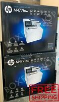 BRAND NEW HP Laserjet Pro MFP M477fnw All-In-One Color Printer (CF377A)