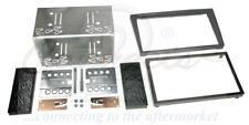 OPEL Vivaro 2004 en adelante Plata Doble Din Fascia Facia Kit de paquete de montaje