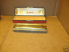 Harmonica Hohner 280 The 64 Chromonica Harmonica w/Case