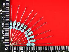 50PCS 100 ohm 100R  1Watt Metal Film Resistors 1W Resistor 1% High Quality#0633