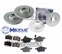 FOR AUDI A6 FRONT REAR MEYLE BRAKE DISC DISCS BRAKE PADS FRONT 288mm REAR 245mm