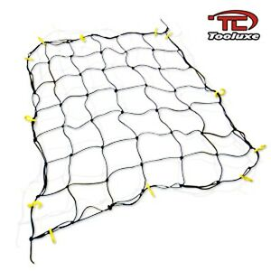 TOOLUXE 3' x 5' NYLON BUNGEE PICKUP TRUCK BED CARGO HOLD NET