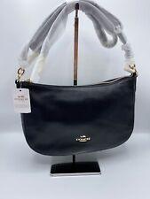 NWT Coach 37018 Chelsea Saddle Smooth Calf Leather Shoulder Bag MSRP $225.00