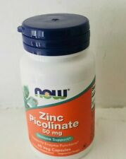 Zinc Picolinate Supplements Extra Strength 50mg Immune Support Vitamin Capsules