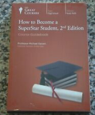 How to Become a SuperStar Student 2nd Edition The Great Course-NEW 3 DVD + GUIDE