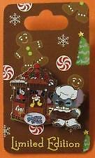 DISNEY 2012 GINGERBREAD HOUSES BOARD WALK RESORT CHEF STITCH PIN LE 750 NEW card