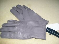 BNWT Corder London mens leather gloves M/L RRP £49.99.  Free UK p&p.