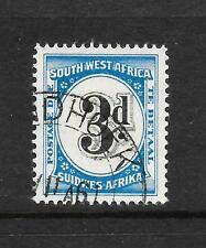SOUTH WEST AFRICA  1959  3d  POSTAGE DUE   FU   SG D54